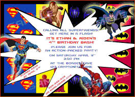 superheroes party invites how to select the superhero party invitations free ideas