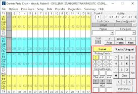 Dentrix Perio Charting Perio Chart Shortcut Keys Dentrix Enterprise Blog