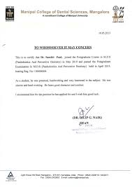 letter of re mendation from dean manipal college of dental sciences mangalore manipal university 1 638 cb=