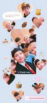 BTS OT7 Aesthetic Soft Background Wide ...