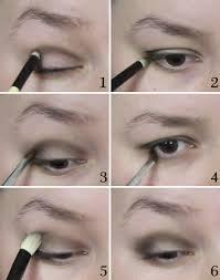smoky style 1920s eye makeup tutorial