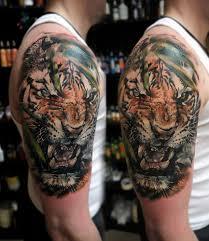 тату с изображением тигра значение эскизы фото и цены сколько