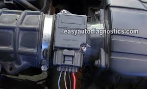 part 1 how to test the ford mass air flow (maf) sensor mass air flow sensor wiring harness how to test the ford mass air flow (maf) sensor