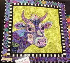 SALE Jersey Girl BJ Designs Cow Quilt Pattern by PincushionParty ... & SALE Jersey Girl BJ Designs Cow Quilt Pattern by PincushionParty, $12.95 Adamdwight.com