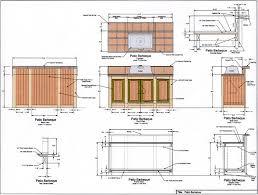 outdoor kitchen plan