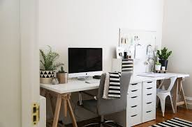 scandinavian office design. Scandi Home Office Design Ideas - Tressel Table Scandinavian