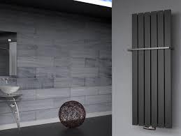 Badheizkörper Peking 2 120x47cm Silberanthrazit Handtuchhalter
