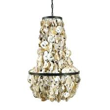creative co op chandelier creative co op wood and metal chandelier op round oyster shell chandelier