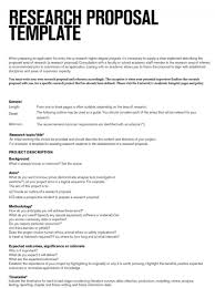 001 Research Proposal Outline Template Ulyssesroom