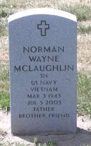 Norman Wayne McLaughlin (1943-2005) - Find A Grave Memorial