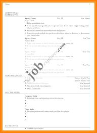 5 Biodata Format Pdf For Job Assembly Resume