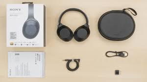 sony 1000x headphones. sony mdr-1000x in the box picture 1000x headphones
