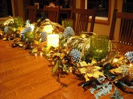 christmas banquet table centerpieces. Christmas Banquet Table Decorations Diy Centerpieces Items Have Around House Yard Homes .