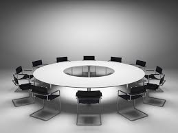 splendid large round meeting table with hon conference table hon desk chairs for modern concept