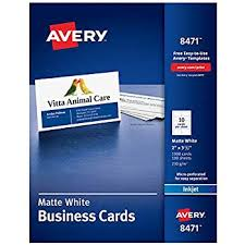 Amazoncom Avery Printable Business Cards Laser Printers 200