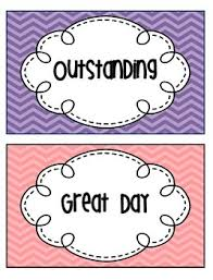 Free Printable Charts For Classroom Classroom Management Free Printable Behavior Chart