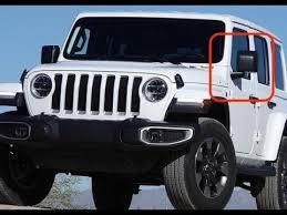 2018 jeep wrangler jl side mirrors