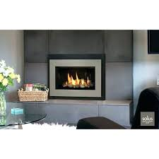 modern ventless gas fireplace inserts s line s contemporary ventless gas fireplace inserts