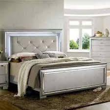 tufted platform bed. Image Is Loading Silver-Tufted-Platform-Bed-Modern-Queen-Size-LED- Tufted Platform Bed
