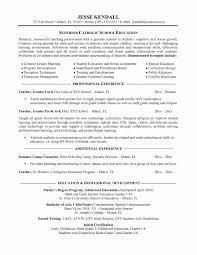 Sample Resume Format For Teaching Profession Elegant Special