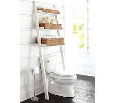 over the toilet storage bed bath and beyond amazing over toilet shelf the ladder with basket