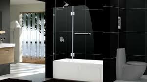 dreamline aqua lux shower door and aqua lux tub door