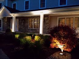 outdoor lighting ideas for front of house. a well balanced design for warm welcome home, in wayne, nj outdoor lighting ideas front of house
