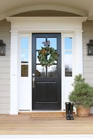 white front doors front door side windows