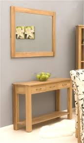 baumhaus mobel oak hidden home office size add to wishlist middot baumhaus mobel oak wall mirror aston solid oak wall mirror