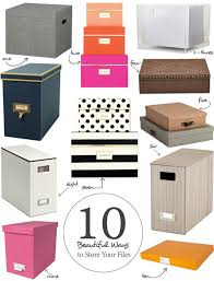office filing ideas. 10 beautiful ways to store your papers u2014 apartment therapyu0027s home remedies office filing ideas
