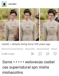 memes and cast novaks castiel already being done 100 years ago