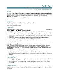 Sample Resume For Entry Level Marketing Position Best 25 Marketing