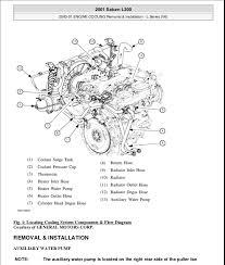 2000 01 engine cooling 2002 Saturn Vue Engine Diagram at Saturn 3 0 Engine Diagram