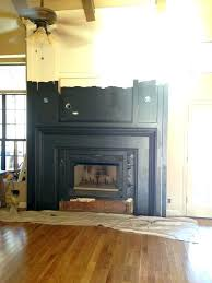 black granite fireplace surround absolute s