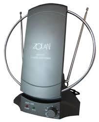 Купить <b>Комнатная</b> DVB-T2 <b>антенна ZOLAN</b> ANT-701 по низкой ...