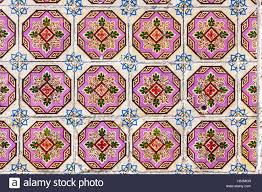 Typical Portuguese Old Ceramic Wall Tiles Azulejos On The - Exterior ceramic wall tile