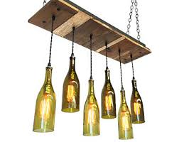 dining chandelier reclaimed wood light fixture 6 wine bottle rustic chandelier fixture rustic wooden light fixtures n36