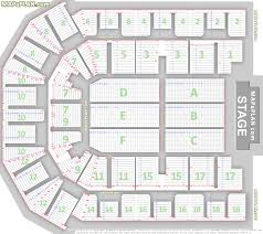 Liverpool Echo Seating Chart Liverpool Echo Arena Detailed Seat Numbers Chart Showing
