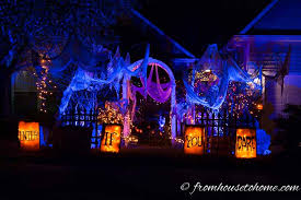 spooky lighting. These Halloween Outdoor Lighting Ideas Are AWESOME!! I\u0027m Definitely Using Some Of Spooky