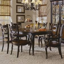 Hooker Furniture Preston Ridge Pedestal Dining Table AHFA - Bobs furniture milford ct