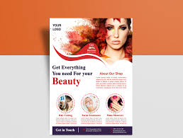 Beauty Flyer Design By Eliyas Ali On Dribbble