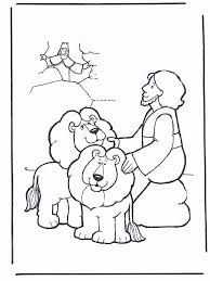 Small Picture Picture Coloring Daniel And The Lions Den Coloring Pages With