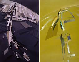 how architecture is born 8 abstract paintings by zaha hadid and the buildings they inspired