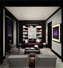 dark gray living room furniture. How To Maximize The Exotic Living Room Furniture : Delightful Modern Decoration Using Purple Dark Gray