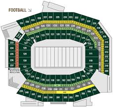 Lincoln Financial Field Seating Chart Philadelphia Eagles