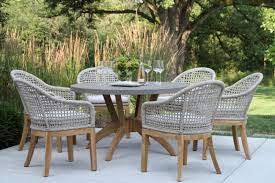 Designer Patio Table Teak And Eucalyptus Wood Outdoor Furniture Tables Chairs