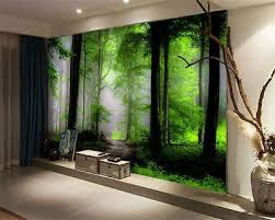 dream mysterious forest full wall mural