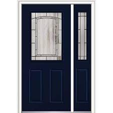 blue front doorBlue  Steel Doors  Front Doors  The Home Depot