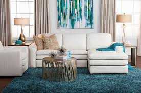 big hom furniture rugs modern white sectional sofa by with unique