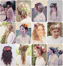 Flower Hair Style howto hair girl flower child5 casual diy ways to wear 5366 by wearticles.com